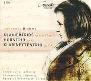 CD image BRAHMS / PIANO TRIOS N 1 - 2 OP 8 - 87 - 101 - HORN TRIO OP 40 - KLARINETTEN TRIO OP 114 (2CD)
