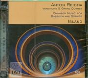 SACD image REICHA ANTON / VARIATION AND GRAND QUINTET - CHAMBER MUSIC FOR BASSON AND STRINGS - ISLAND - SACD