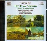 CD image VIVALDI / THE FOUR SEASONS - CONCERTO ALLA RUSTICA RV 151 / TAKAKO NISHIZAKI - (VIOLIN) - ST.GUNZENHAUSER
