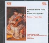 CD image ROMANTIC FRENCH MUSIC FOR GUITAR AND ORCHESTRA / GARCIA