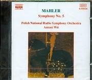 CD image MAHLER / SYMPHONY NO.5 / WIT