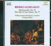 CD image RIMSKY KORSAKOV / SHEHERAZ.THE TALE OF TSAR SALTAN