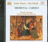 CD image MEDIEVAL CAROLS / OXFORD CAMERATA