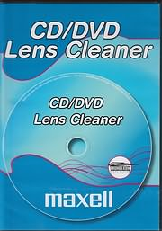 CD image for LENS CLEANER - KATHARISTIKO KEFALIS CD - DVD / FOR CD AND DVD PLAYERS BY MAXELL (THUNDERON BRUSH SYSTEM)