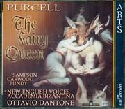 CD image PURCELL / THE FAIRY QUEEN SEMI OPERA IN 5 ACTS / DANTONE (2CD)
