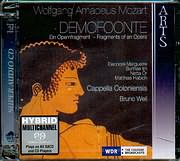 SACD image MOZART / DEMOFOONTE - FRAGMENTS OF AN OPERA - CAPPELLA COLONIENSIS - BRUNO WEIL (2 SACD)