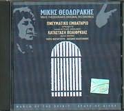 CD image MIKIS THEODORAKIS / PNEYMATIKO EMVATIRIO (SIKELIANOS) - KATASTASI POLIORKIAS - MARINA