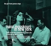 LP image ΝΑΝΑ ΜΟΥΣΧΟΥΡΗ / NANA MOUSKOURI IN NEW YORK - THE GIRL FROM GREECE SINGS (VINYL)