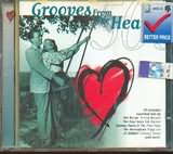 CD image GROOVES FROM THE HEART 50S - (VARIOUS)