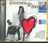 CD image GROOVIES FROM THE HEART 60S - (VARIOUS)