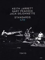 DVD image KEITH JARRETT TRIO: STANDARDS I / II TOKYO 85 / 86 - (DVD VIDEO)