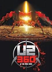 DVD image U2 - 360 AT THE ROSE BOWL - (DVD)