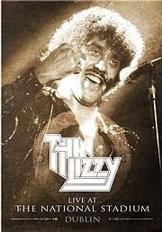 DVD image THIN LIZZY - LIVE AT THE NATIONAL STADIUM PUBLIN 1975 - (DVD)