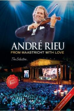 DVD image ANDRE RIEU - FROM MAASTRICHT WITH LOVE: THE COLLECTION (6 DVD) - (DVD)