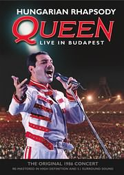 DVD image QUEEN - HUNGARIAN RHAPSODY - (DVD)