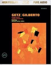 DVD image BLU - RAY AUDIO / STAN GETZ - JOAO GILBERTO: GETZ / GILBERTO