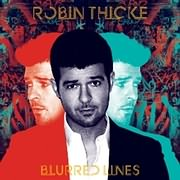 CD image ROBIN THICKE / BLURRED LINES