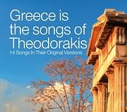 CD image GREECE IS THE SONGS OF THEODORAKIS - 14 ORIGINAL SONGS