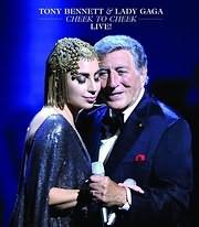 DVD image TONY BENNETT - LADY GAGA / CHEEK TO CHEEK LIVE (LINCOLN CENTER NY) - (DVD)