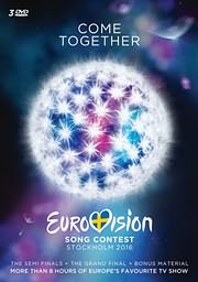 CD Image for EUROVISION SONG CONTEST STOCKHOLM 2016 (3DVD) - (DVD VIDEO)