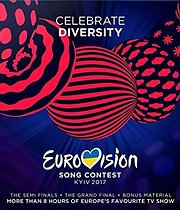 DVD image EUROVISION SONG CONTEST 2017 KYIV (3DVD) - (VARIOUS)