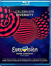 DVD image BLU - RAY / VARIOUS / EUROVISION SONG CONTEST 2017 KYIV (3 BLU - RAY)