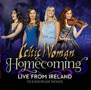 CD Image for CELTIC WOMAN / HOMECOMING: LIVE FROM ISLAND