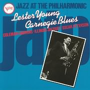 CD Image for LESTER YOUNG / JAZZ AT THE PHILHARMONIC: CARNEGIE BLUES (VINYL)
