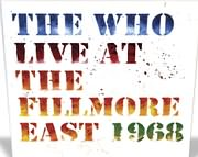 CD image for THE WHO / LIVE AT THE FILLMORE (2CD)
