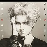 CD image for MADONNA / MADONNA (CRYSTAL CLEAR LP) (VINYL)