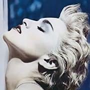 CD image for MADONNA / TRUE BLUE (CRYSTAL CLEAR LP) (VINYL)