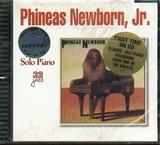 CD image PHINEAS NEWBORN - JR / SOLO PIANO