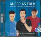 CD image QUEER AS FOLK - THE WHOLE LOVE THING SORTED - (OST)
