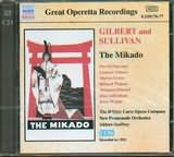 CD image GILBERT AND SULLIVAN / THE MIKADO OR THE TOWN OF TITIQU (2CD)