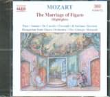 CD image MOZART / THE MARRIAGE OF FIGARO (HIGHLIGHTS) / MORANDI
