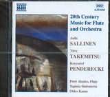 CD image 20th CENTURY MUSIC FOR FLUTE AND ORCHESTRA / SALLINEN - TAKEMITSU - PENDERECKI