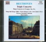 CD image BEETHOVEN / TRIPLE CONCERTO / PIANO CONCERTO IN D MAJOR - OP.61A / DRAHOS