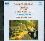 CD image COSTE NAPOLEON / GUITAR WORKS VOL.4 / MCFADDEN