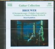 CD image BROUWER LEO / GUITAR MUSIC VOL.2 / PAPANDREOU