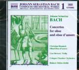 BACH J S / <br>CONCERTOS FOR OBOE AND OBOE D AMORE