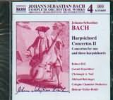 CD image BACH J.S. / HARPSICHORD CONCERTOS Vol.2 (BWV 1054 - 1058 - 1064 - 1063 - 1064)
