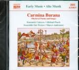 CD image CARMINA BURANA / MEDIEVAL POEMS AND SONGS / AMBROSINI