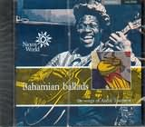 CD image BAHAMAS / BAHAMIAN BALLADS THE SONGS OF ANDRE TOUSSAINT