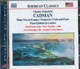 CD image CHARLES WAKEFIELD CADMAN / PIANO TRIO IN D MAJORSON VIOL.PIANO