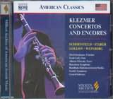 CD image KLEZMER CONCERTOS AND ENCORES / VARIOUS