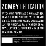 CD image ZOMVY / DEDICATION