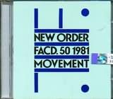 CD image NEW ORDER / FACD 50 1981 MOVEMENT