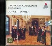CD image LEOPOLD KOZELUCH / SYMPHONIES C - MA - D - MA - A - MA - B - MA