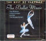 CD image THE BALLET MUSIC / PROKOFIEV - STRAVINSKY - RAVEL - TCHAIKOVSKY