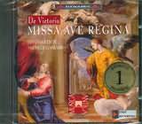 CD image VICTORIA LUIS / MISSA AVE REGINA FOR 8 VOICES / FESTINA LENTE - GASBARRO